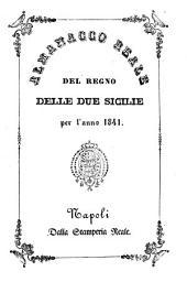 Almanacco reale del Regno delle Due Sicilie: per l'anno .... 1841