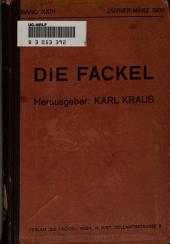 Die Fackel: Ausgaben 192-199