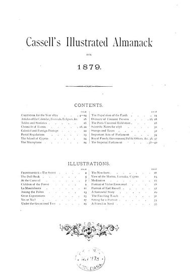 Cassell s illustrated almanack PDF