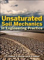 Unsaturated Soil Mechanics in Engineering Practice PDF
