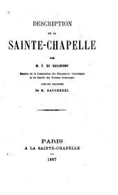 Description de la Sainte-Chapelle
