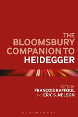 The Bloomsbury Companion to Heidegger PDF