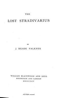 The Lost Stradivarius PDF