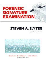 FORENSIC SIGNATURE EXAMINATION PDF