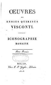 Iconographie romaine: Tome premier