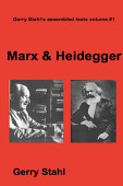Marx Heidegger
