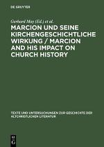 Marcion and his impact on church history