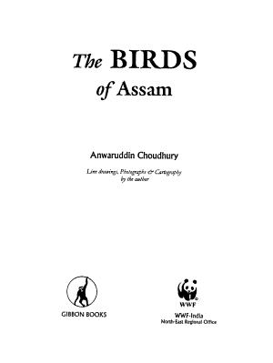 The Birds of Assam