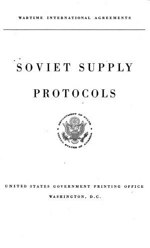 Soviet Supply Protocols