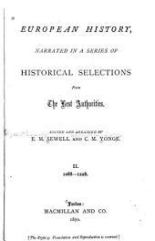 European History: Part 2; Parts 1088-1228
