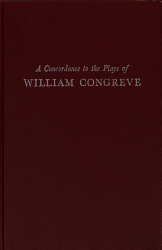 A Concordance To The Plays Of William Congreve Book PDF