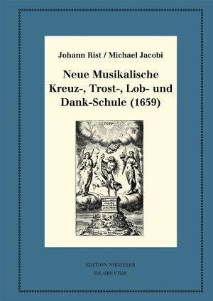 Neue Musikalische Kreuz   Trost   Lob  und Dank Schule  1659  PDF