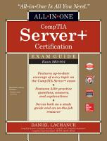 CompTIA Server  Certification All in One Exam Guide  Exam SK0 004  PDF