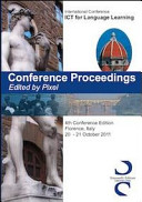 Conference Proceedings  International Conference ICT for Language Learning  4th Conference Edition  Florence  20 21 October 2011  PDF