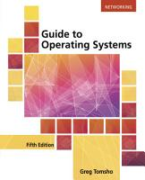 Guide to Operating Systems PDF