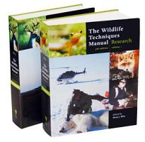 The Wildlife Techniques Manual PDF