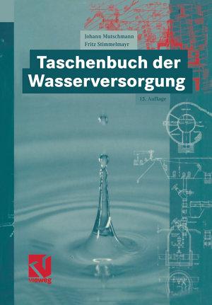 Taschenbuch der Wasserversorgung PDF