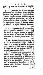 """Du Renversement des libertés de l'Église gallicane dans l'affaire de la constitution """"Unigenitus"""", par Nicolas Le Gros"""