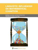 Linguistic Influences on Mathematical Cognition PDF