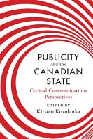 Publicity and the Canadian State PDF