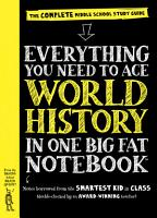 Everything You Need to Ace World History in One Big Fat Notebook PDF