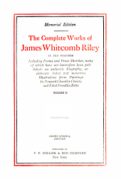 The complete works of James Whitcomb Riley: Volume 2