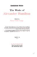 The Works of Alexander Hamilton PDF