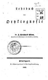 Lehrbuch der Oryktognosie