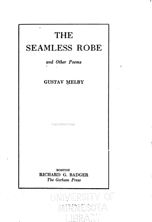 The Seamless Robe and Other Poems PDF