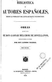 Obras publicadas e inéditas de D. Gaspar Melchor de Jovellanos: Volumen 2