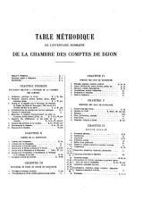 Inventaire-sommaire des Archives départementales antérieures à 1790: Côte-d'Or : Archives civiles, série B : Chambre des comptes de Bourgogne, Volume5