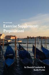 Exercise Supplement: Preposizioni