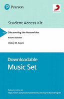 Downloadable Music Card for Discovering the Humanities Book