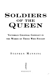 Soldiers of the Queen PDF