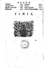 Summa theologiae moralis doctoris angelici diui Thomae sacri ordinis praedicatorum... per R.-P. Franciscum Getium...