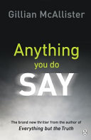 Download Anything You Do Say Book