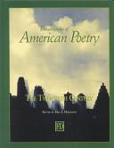 Encyclopedia of American Poetry PDF