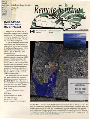 Remote Sensing in Canada PDF