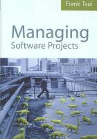 Managing Software Projects PDF