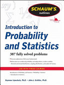 Schaum s Outline of Introduction to Probability and Statistics PDF