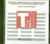 Estructura y conservación de las comunidades de aves en humedales del sudeste ibérico (Almería, España)
