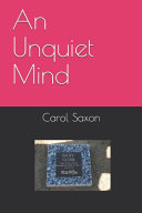 An Unquiet Mind Book PDF