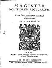 Magister Novitiorum Regularium