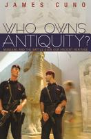 Who Owns Antiquity  PDF