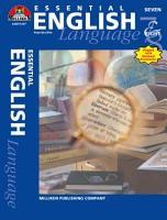 Essential English   Grades 7 8  ENHANCED eBook  PDF