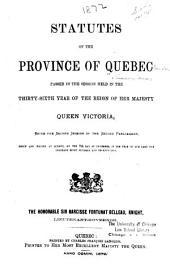 Statutes of Quebec