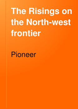 The Risings on the North west Frontier PDF