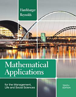 Mathematical Applications for the Management  Life  and Social Sciences Book