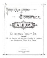 Portrait and Biographical Album of Stephenson County  Ill PDF