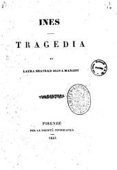 Ines tragedia di Laura Beatrice Oliva Mancini
